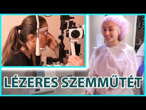 látás-helyreállító lézeres műtét bárányhimlő és látás