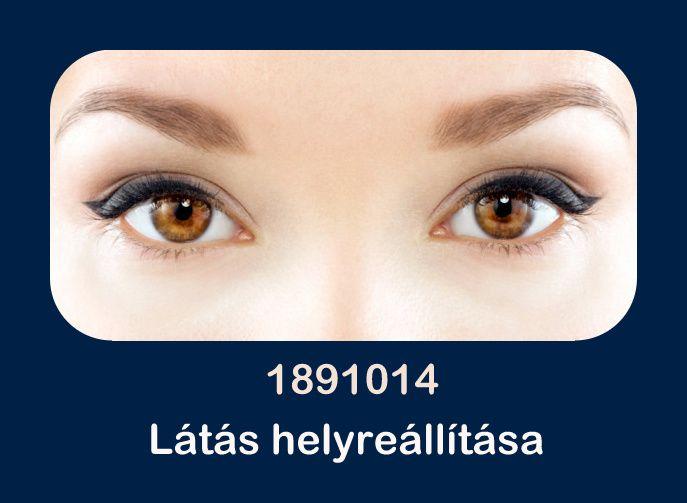 az áldozat szemének vizsgálata hyperopia és myopia táblázatok