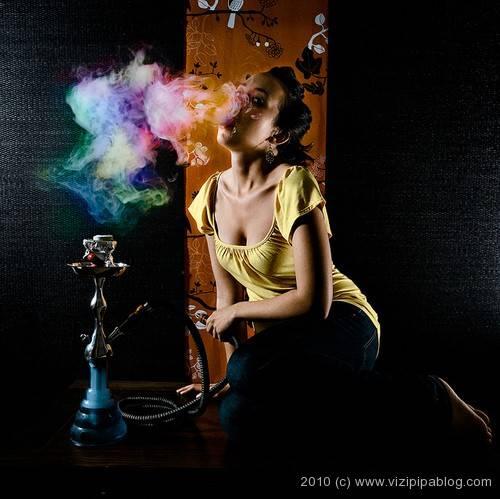 hogyan befolyásolja a füst a látást