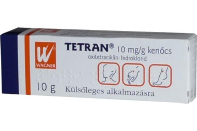 széles spektrumú antibiotikum szemészet