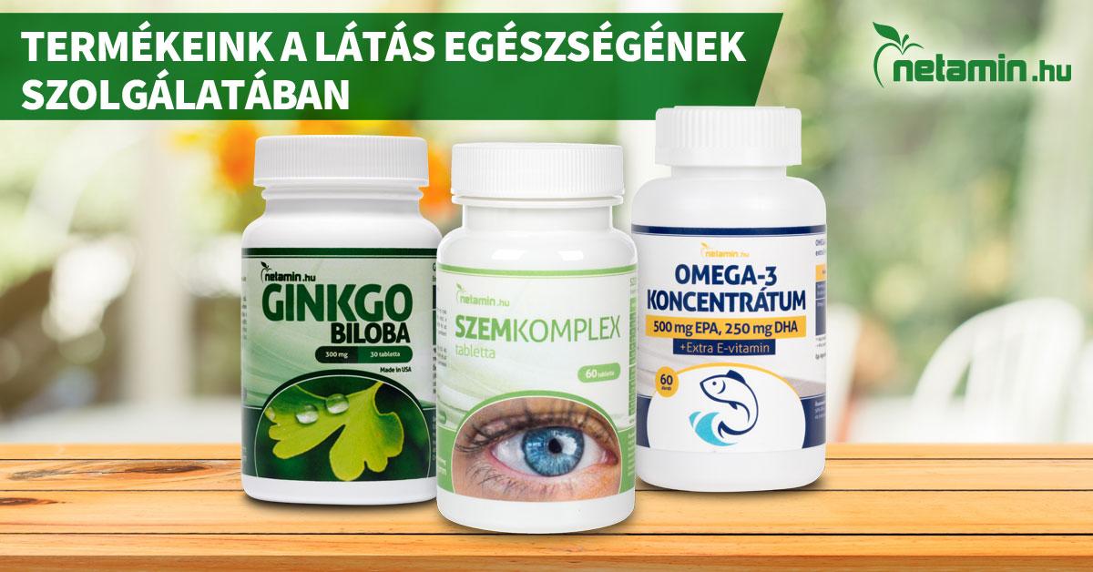 gyakorlatok a látás kezelésére