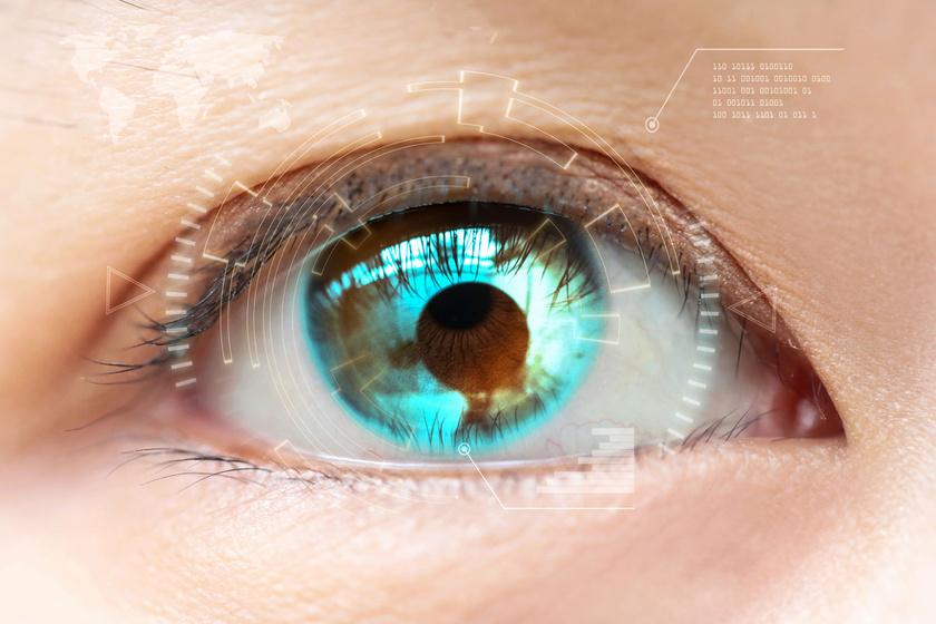 a látás segítségével érzékelik a szemvizsgálati táblázat betűmérete