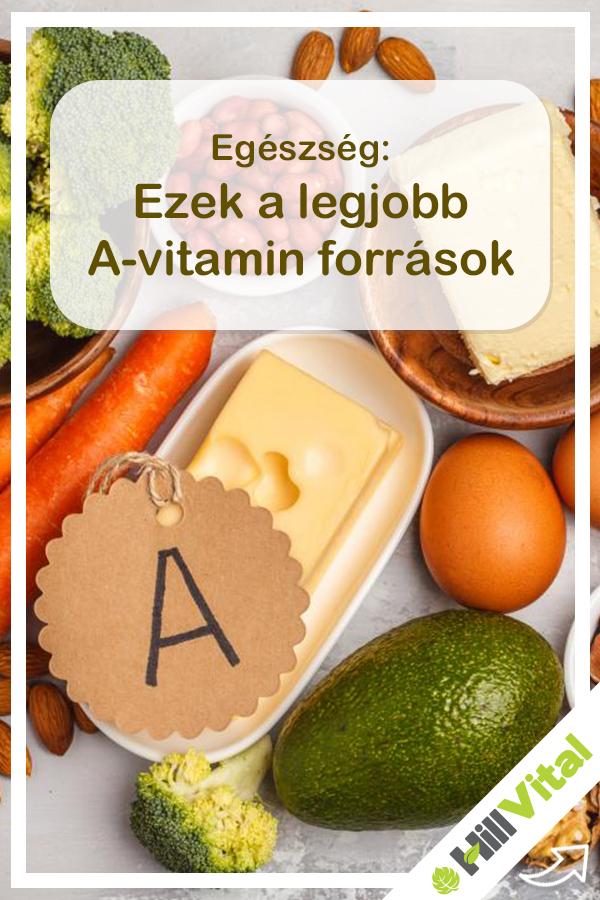 vitaminok a látás táplálkozásához