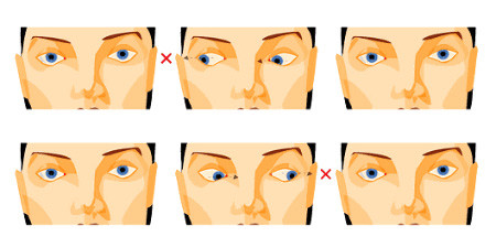 gyakorlatok, amelyek azonnal javítják a látást