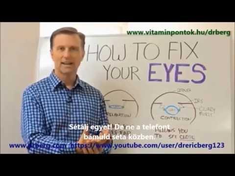 Látás helyreállítási recept - Hat hatékony módszer az agyi keringés javítására