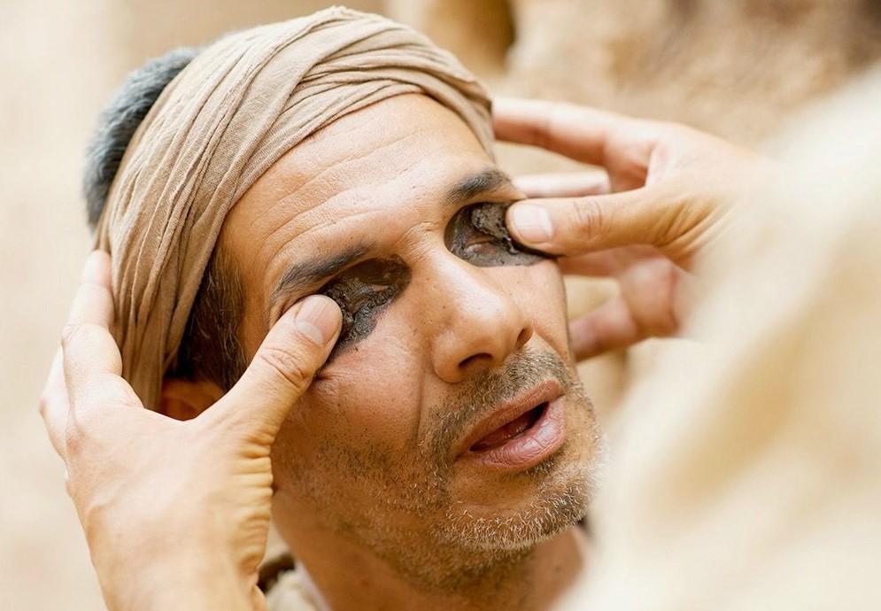 Visszaadom a vak ember látását optikai vizsgálat